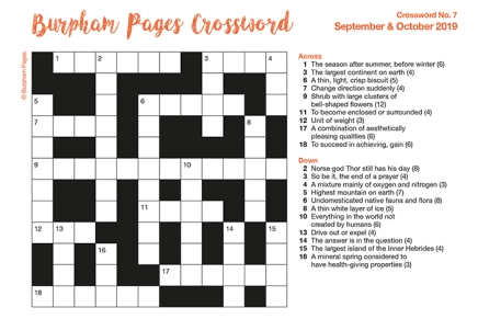 Burpham Pages Crossword No.7