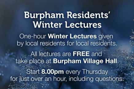 Burpham Residents' Winter Lectures